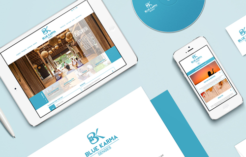 Blue Karma Senses by Bali Web Design Agency