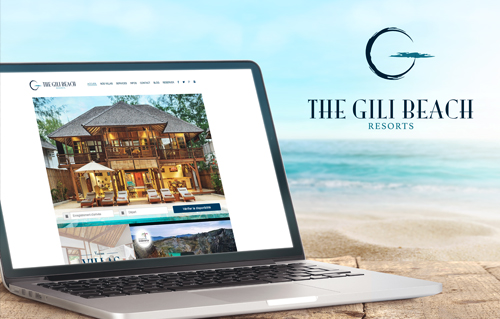 Gili Beach Resort by Bali Web Design Agency