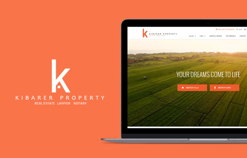 Kibarer Property by Bali Web Design Agency