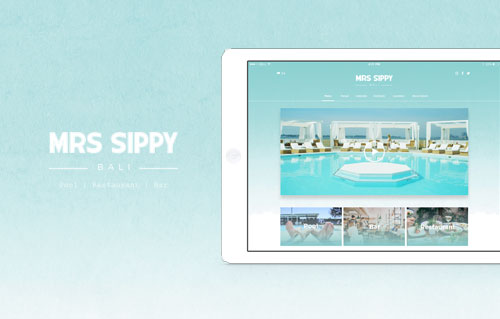Mrs Sippy by Bali Web Design Agency