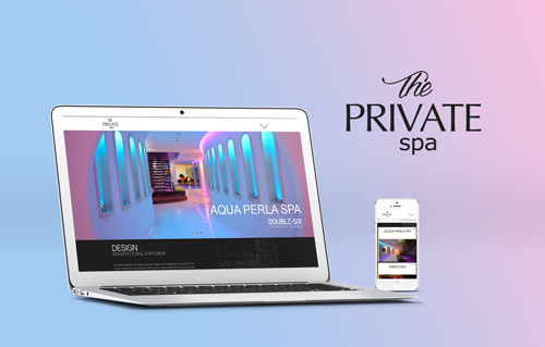 the private spa by Bali Web Design Agency