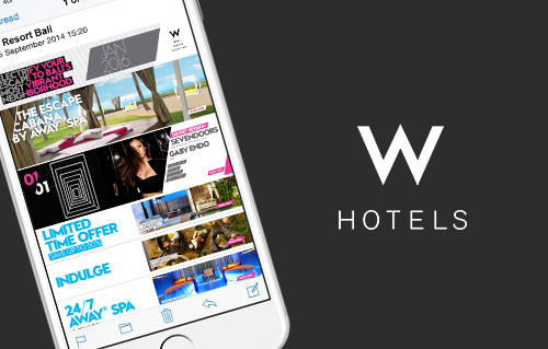 W Hotel by Bali Web Design Agency