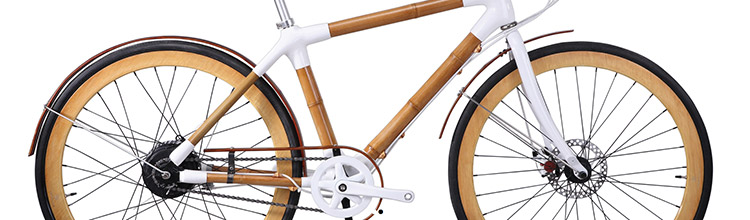 bamboo bicycle by bamboobee