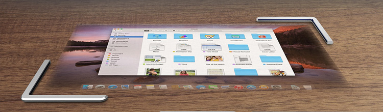 Touchscreen projector concept, great idea from apple
