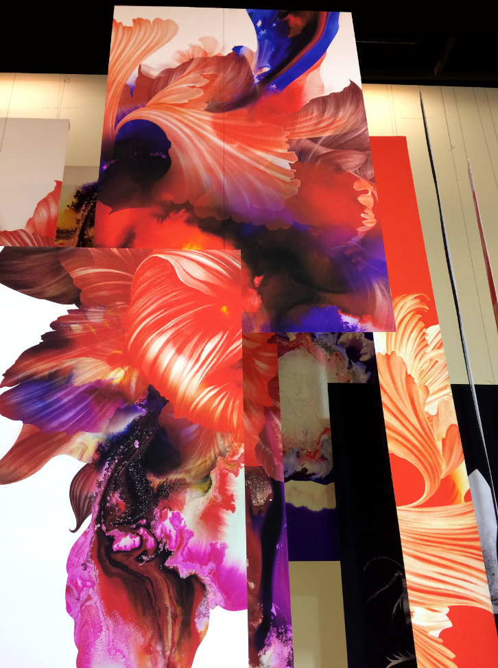 Awesome flower graphics by Kahori Maki